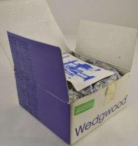 WEDGWOOD SAGE GREEN JASPERWARE TRINKET BOX   BOXED