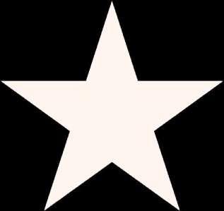 26 x WHITE STAR decals wall art decor car stickers
