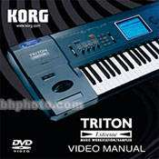 Korg DVD TRITON Extreme Manual   Manual ONLY EXDVD B&H Photo