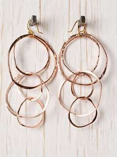 Sibilia Maria Fernanda Bania Hoops Earring at Free People Clothing