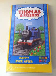 Thomas the Tank Engine   HAPPY EVER AFTER VHS VIDEO PAL (ABC
