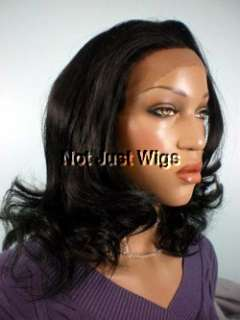 FRENCH LACE WIG HI TEMP ROOTED SYNTHETIC DARK BROWN #2