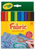 CRAYOLA FABRIC MARKERS BUY THE CASE PACKED 24EA