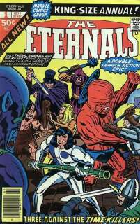 Jack Kirby The Eternals Annual #1 Production Art Cover