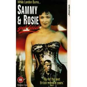 Sammy and Rosie Get Laid [VHS] Shashi Kapoor, Claire Bloom