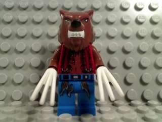 LEGO WEREWOLF with GLOW n DARK CLAWS Monster Fighters Night Moon