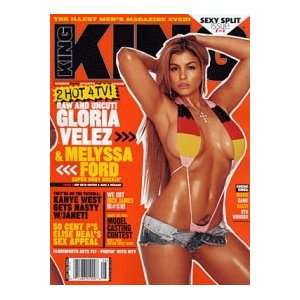 2004 Issue (Gloria Velez Cover) (Single Issue): King Magazine: Books