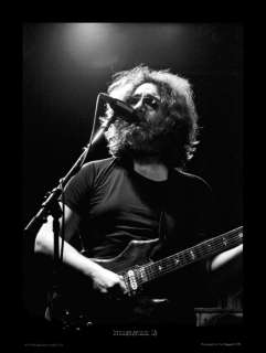 Jerry Garcia 79 Ltd Ed Photo Art Print Grateful Dead Numbered Edition