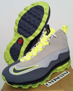Nike Air Max JR (GS) Ken Griffey Jr 2011 Youth Shoe Grey Volt