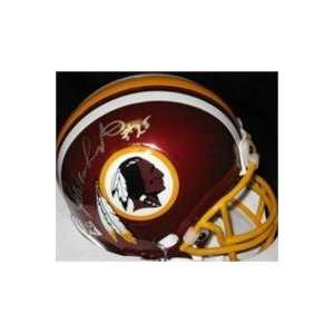 Joe Washington autographed Football Mini Helmet (Washington Redskins