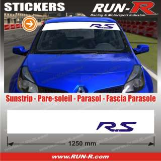 Pegatina RS Renault Sport   Clio Twingo Megane   RE437