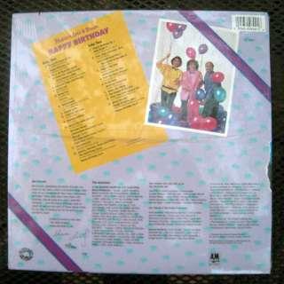 HAPPY BIRTHDAY EF 3909 33 SONGS, POEMS w/LYRIC SHEET SEALED!