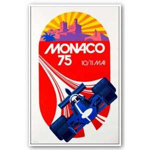 Monaco, 1975   Giclee by Michael Turner 16.5x12.75 Art Print Poster