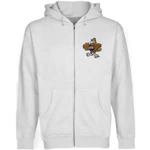 NCAA Oral Roberts Golden Eagles White Logo Applique