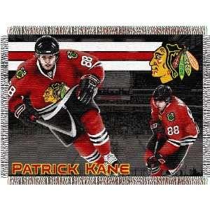 Patrick Kane Chicago Blackhawks 48x60 Woven Tapestry