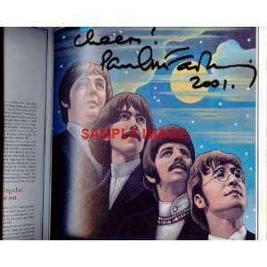 Paul McCartney BEATLES signed SEARGENT PEPPER photo