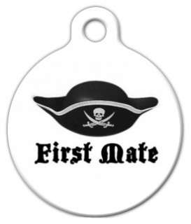 FIRST MATE   Pet ID Tag   Custom Text   Dog Cat