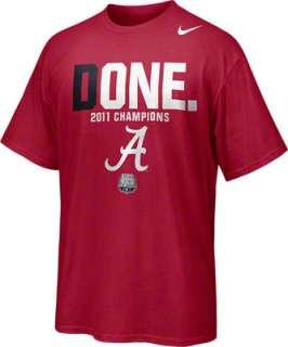 Alabama Crimson Tide Nike 2011 BCS Football National Champions