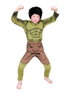 The Avengers   The Incredible Hulk Deluxe Fancy Dress Costume Very.co