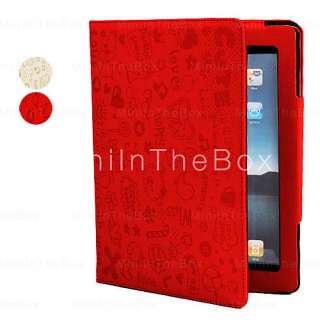 Cute Girl Leather Case Stand for iPad 2,  On All Gadgets