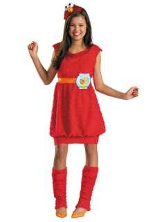 TV / Movie Costumes Sesame Street Costumes Teen Girls Elmo Costume