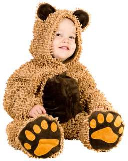 Baby and Toddler Chenille Teddy Bear Costume   Baby Animal Costumes