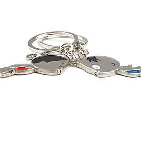 US$ 3.49   Magical Lovely Couples Keychains (2 Piece Set), Free