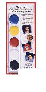 Mehron Color Make Up Palette   Family Friendly Costumes