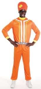 Yo Gabba Gabba DJ Lance Rock Costume   Adult Costumes