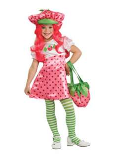 Strawberry Shortcake Costume for Girls Cartoon Characters Costume at