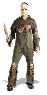 Adult Deluxe Jason Voorhees Costume   Jason Dlx Adult Costume   Jason