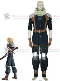 Cosplay Costume  Final Fantasy VII Crisis Core Cloud Strife Costume