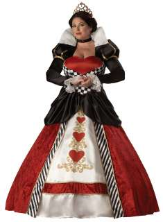 Queen of Hearts Elite Collection Plus Adult Costume   Includes full