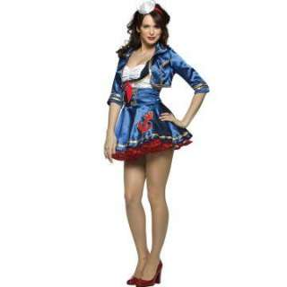 Sexy Sailor Adult Costume   Includes Dress, jacket, and headband