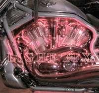 ORANGE LED LIGHTS YAMAHA ROAD STAR SILVERADO
