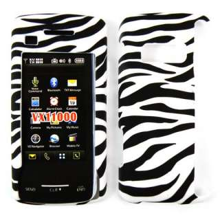 HARD Zebra CASE COVER For LG VERIZON enV VX11000 TOUCH