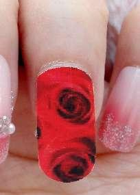 40X Nail Art Effect Nail Polish Strip Nail File J0428 6