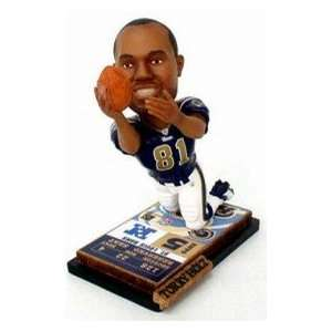 Torry Holt Ticket Base Forever Collectibles Bobblehead