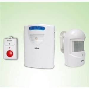 Quality Wireless Indoor Entry Alarm System With Flashing LED Light