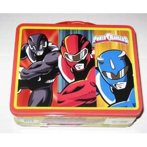 Power Rangers Metal Boys Tin Lunch Box Toys & Games