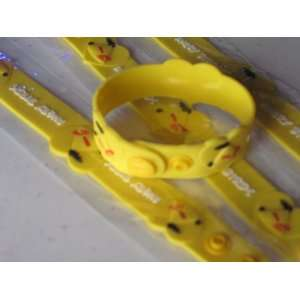 Angry Birds Silicone Rubber Bracelet Yellow Color