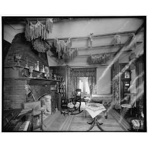 The Parlor,log cabin,Palmer Park,Detroit,Mich. Home