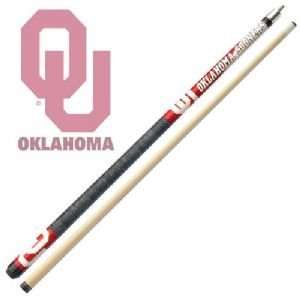 Oklahoma Sooners Officially Licensed Billiards Cue Stick