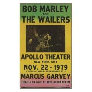 Bob Marley & Wailers 14x22 Concert Poster  Home & Kitchen