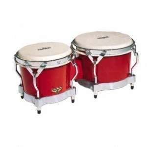 Lp Matador Fiberglass Bongo Red Musical Instruments