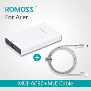 Notebook AC Adapter Power Charger 90w/Power Supply with Charging Cable
