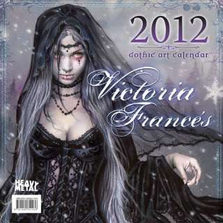 of Victoria Frances Wall calendar (9781935351436) Heavy Metal Books