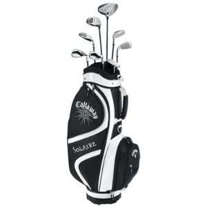 Callaway Solaire Ladies 9 Piece SET Womens Black, Right