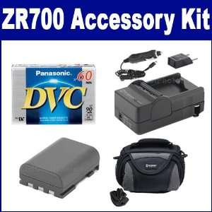 Canon ZR700 Camcorder Accessory Kit includes SDC 26 Case