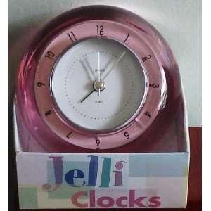 LINDEN RASBERRY PINK JELLI ALARM CLOCK $25 TPK 1767: Electronics